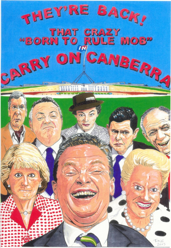 Carry on Canberra by Tony Sowersby