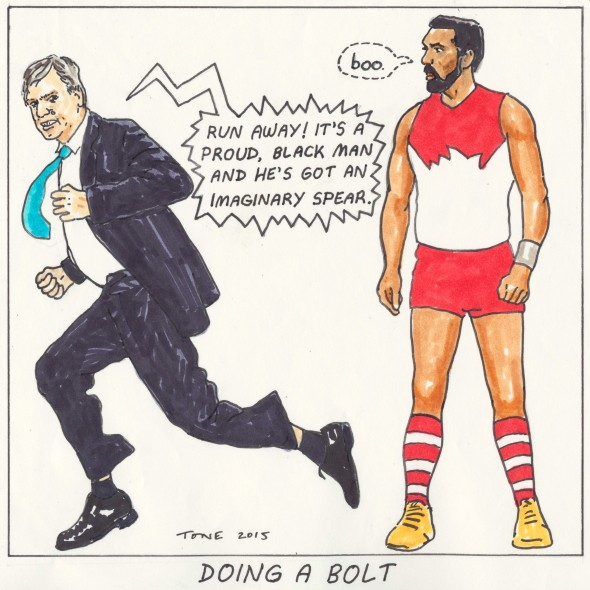 Doing a Bolt by Tony Sowersby