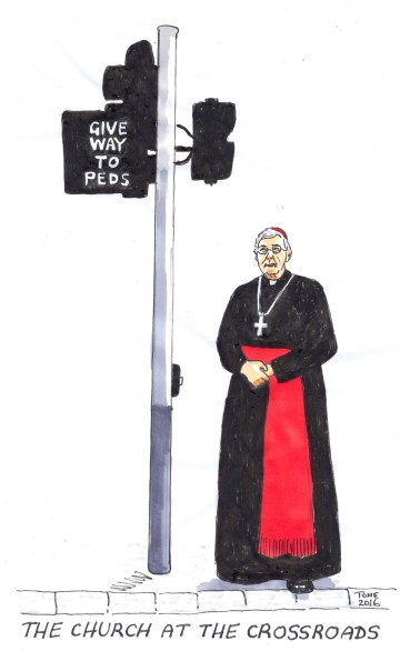 The Church at the Crossroads by Tony Sowersby